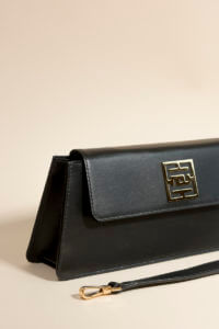 sac baguette kenza noir