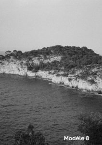 photo en noir et blanc de Marseille